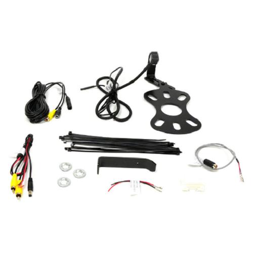 Brandmotion 9002-8848 Jeep Wrangler Spare Tire Rear Backup Camera Kit 2007-2017